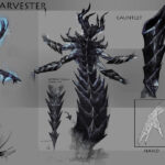 These Daedra, the harvesters, are often used by Molag Bal as overseers of cult activities. They're frequent participants in rituals involving sacrifices or soul-stealing. Though they do have some measure of intelligence, their lack of culture or language places them below the Dremora in Daedric hierarchy.