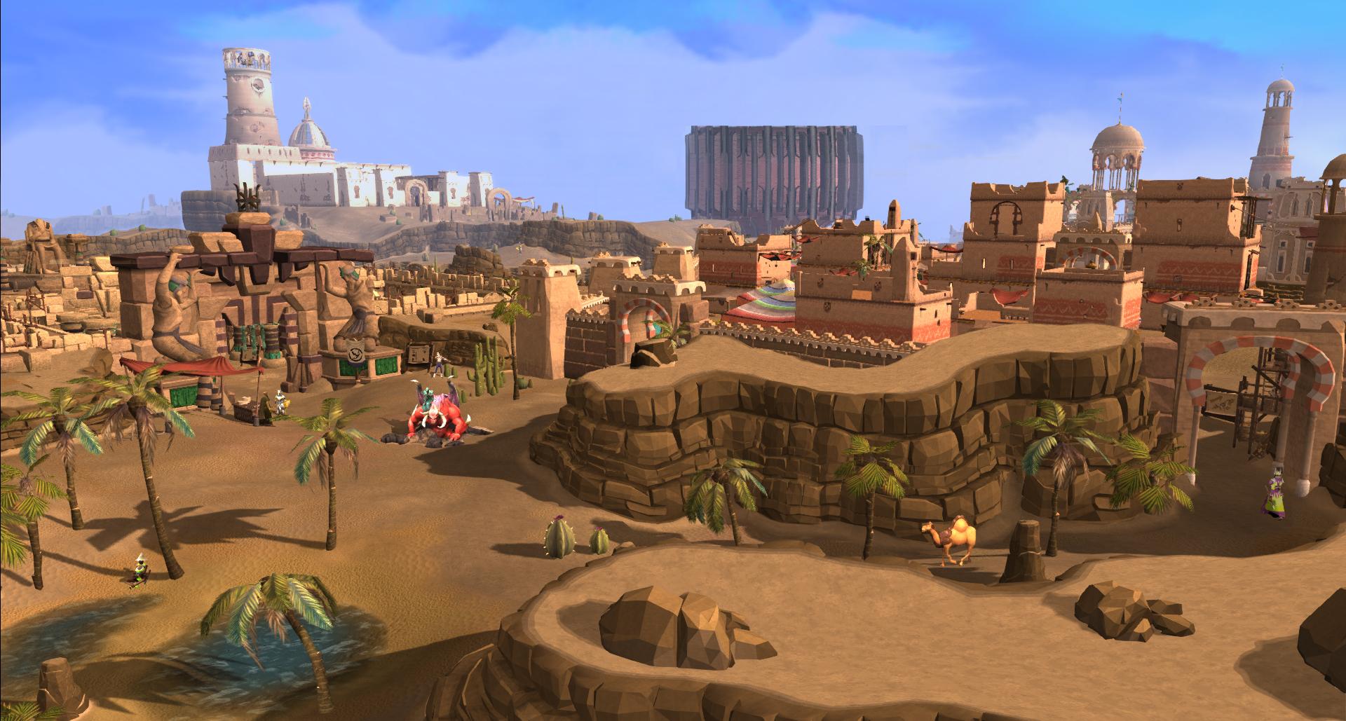 Al Kharid to Duel Arena