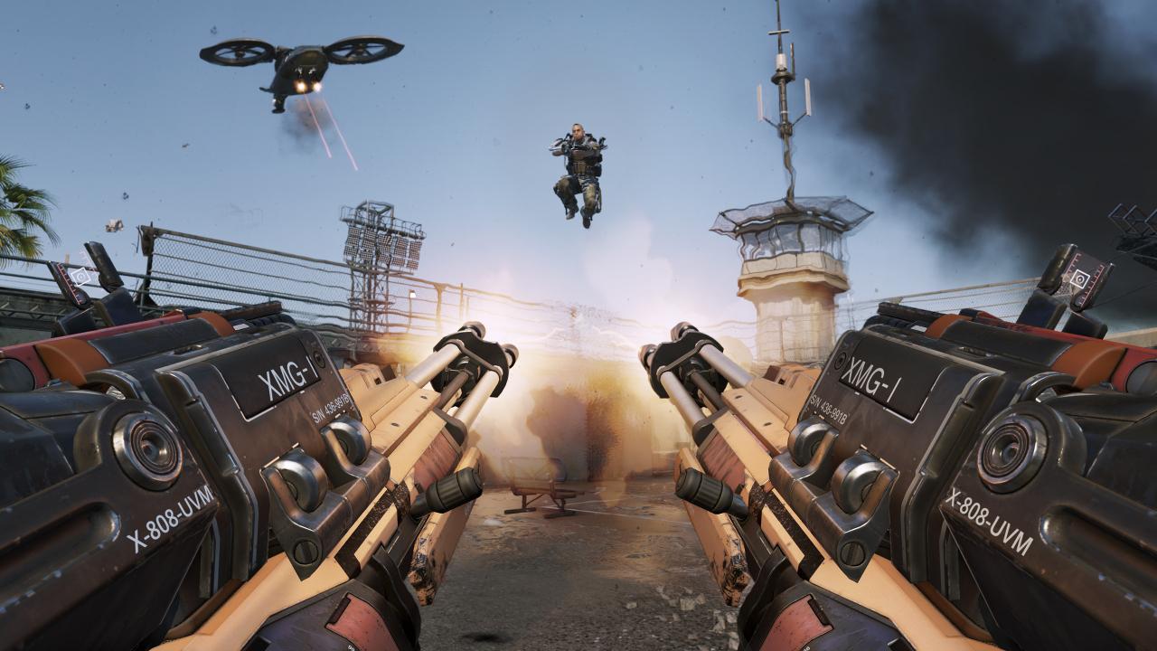 CoD AW_Riot_Gun Blazing