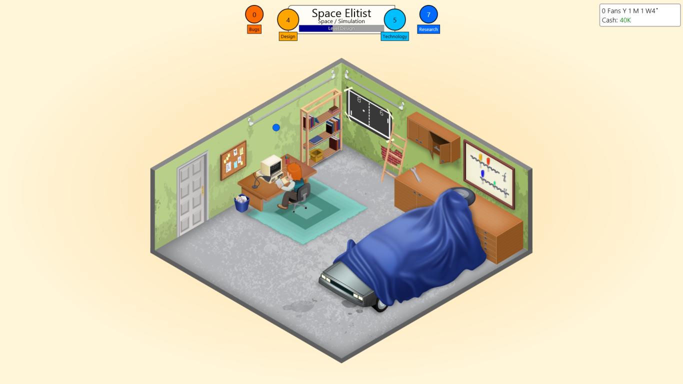 Game Dev Tycoon Garage