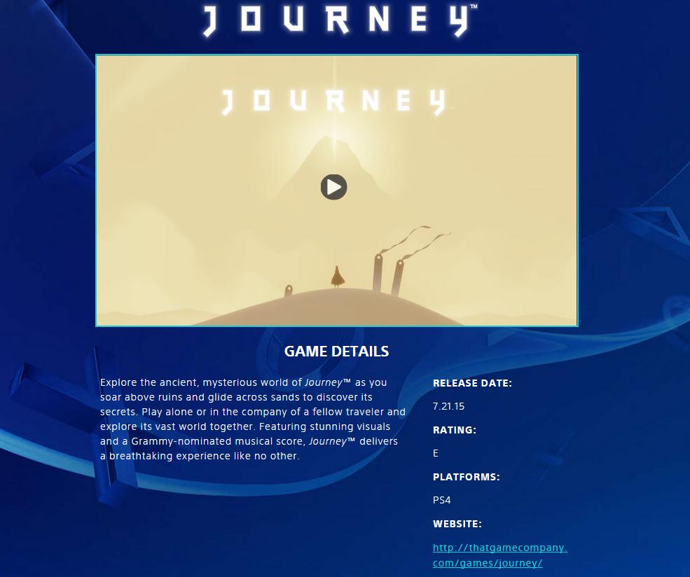 Journeyps4