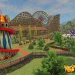 Wooden Coaster Gamescom Reveal Shot - RCTW