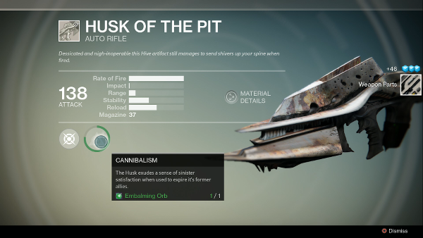 husk of the pit